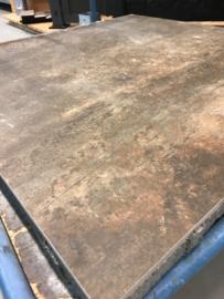 GeoCeramica 80x80 Corten Steel tegel