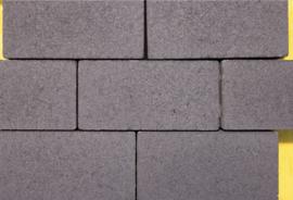 GeoCotto 21x10,5x8 Nero Betonklinker