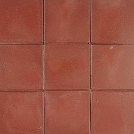 Tegel 15x30x4,5 cm KOMO rood ZF