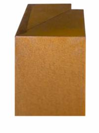 Corten 170/170x300x120 mm Overzetstuk Hoek