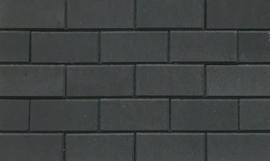 BSS 6 cm zwart met deklaag betonklinker