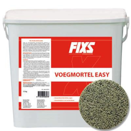 Voegmortel Fixs Easy Tuinvisie 15 KG steengrijs