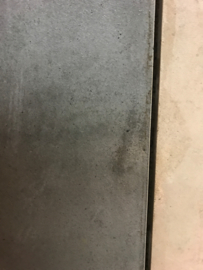 GeoCeramica maxxima 100x100 Concreet Black tegel