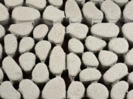 Keigrasstenen 45x45x10 cm grijs