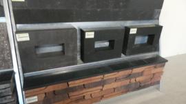 Linia Palissade hoekstuk 60x30x12 Gris Excellence