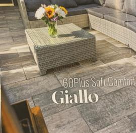 60plus Soft Comfort 50x100 Naturel Giallo