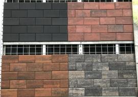 BKK 7 cm antraciet beton klinker (door en door)