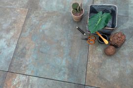 GeoCeramica 80x80 Copper Steel