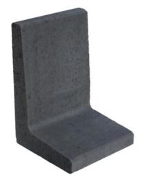 L-element 60x40x40 antraciet