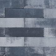 Linia Palissade 15x15x60 strak Grijs zwart