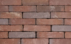 Oud Breda straatbaksteen 20x5x8,5 cm