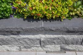 Wallblock Afdekplaat antraciet 60x30x6cm