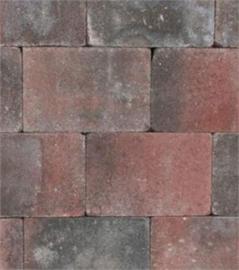 Tambour rood zwart 20x30x6
