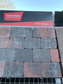 Tambour rood zwart 10x10x6