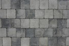 Kobblestones 21x21x7 cm Grijs Zwart