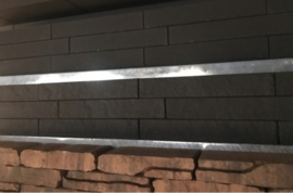 Linia Palissade 10x15x60 strak Antraciet