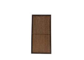 Kokosscherm in houten frame 180x90