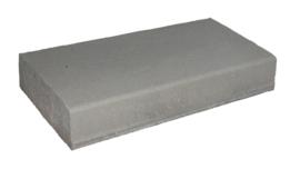Bloktrede 48/50x16x100 cm Grijs