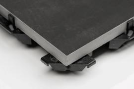 CeramiDrain 60x60x4 Quartz Black