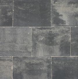 Straksteen 40x30x6 grijs/zwart