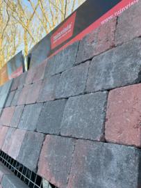 Tambour rood zwart 15x20x6