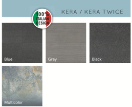 Kera Twice 60x60x4 Unica Grey