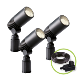 Garden Lights Alder Set