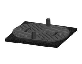 Solidor Vaste Terrasdragers RC 10 + CIP 1cm