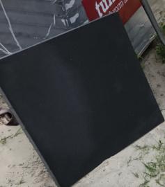 Tremico zonder facet 60x60x6 antraciet