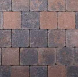Kobblestones 21x21x7 cm Bruin Zwart