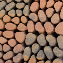 Keigrasstenen 45x45x10 cm bruin