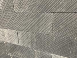Linia Palissade Excellence 15x15x60 cm Vento Grijs/Zwart