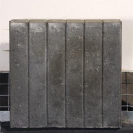 Rectoband 8x50x50cm Grijs