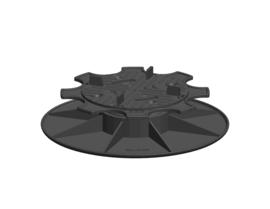 PV 3,5/5 Solidor Regelbare Terrasdrager