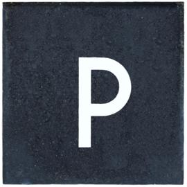 Parkeertegel 30x30x5 antraciet