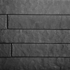 Linia Rockface 10x15x60 strak Antraciet