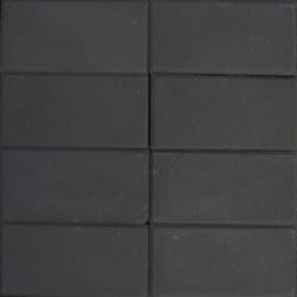 Betontegel 15x30x4.5 zwart KOMO