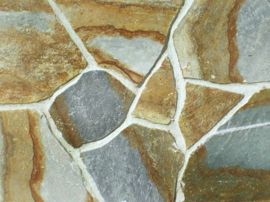 Flagstones Karistos Green 25-35 mm