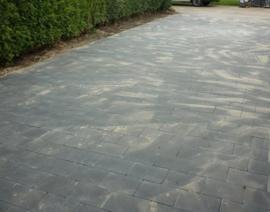 Straksteen 20x30x6 Zwart