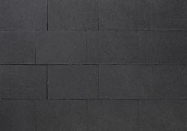 Puras strak 20x30x6 Zwart