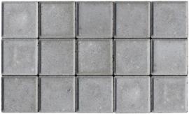 Halve betonklinker 8 cm grijs (72st)