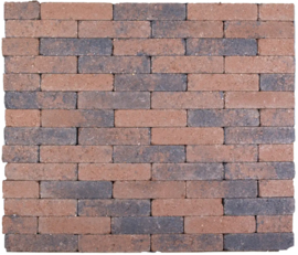 Kobblestones Waalformaat 20x5x7 cm Bruin Zwart