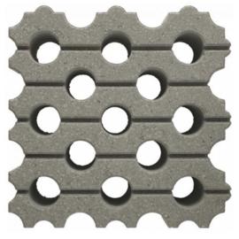 Excluton AquaPassage 60x60x16 grijs