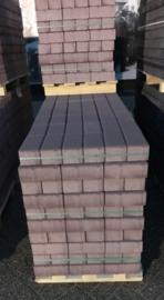 BSS 8 cm KOMO heidepaars met deklaag betonklinker