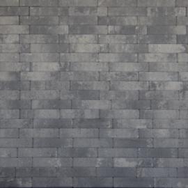 Waalformaat Facetto 20x5x6 grijs zwart