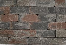 Wallblock tumbled 12x12x30 cm Texels Bont