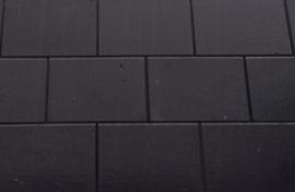 Excluton terras steen 20x30x4 Nero