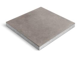 CeraDeco keramiek op beton Belga Titanio 60x60