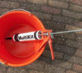 MS Multikit | Antraciet | koker à 310 ml Kit