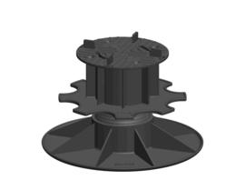 PV 11/14 Solidor Regelbare Terrasdrager